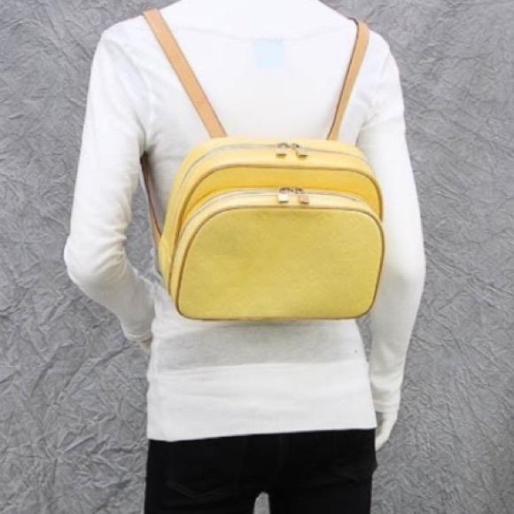 fc3d535499fe Louis Vuitton Handbags - SALE🌺LV Murray backpack yellow vernis